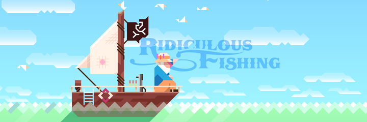 Ridiculous Fishing Logo Android