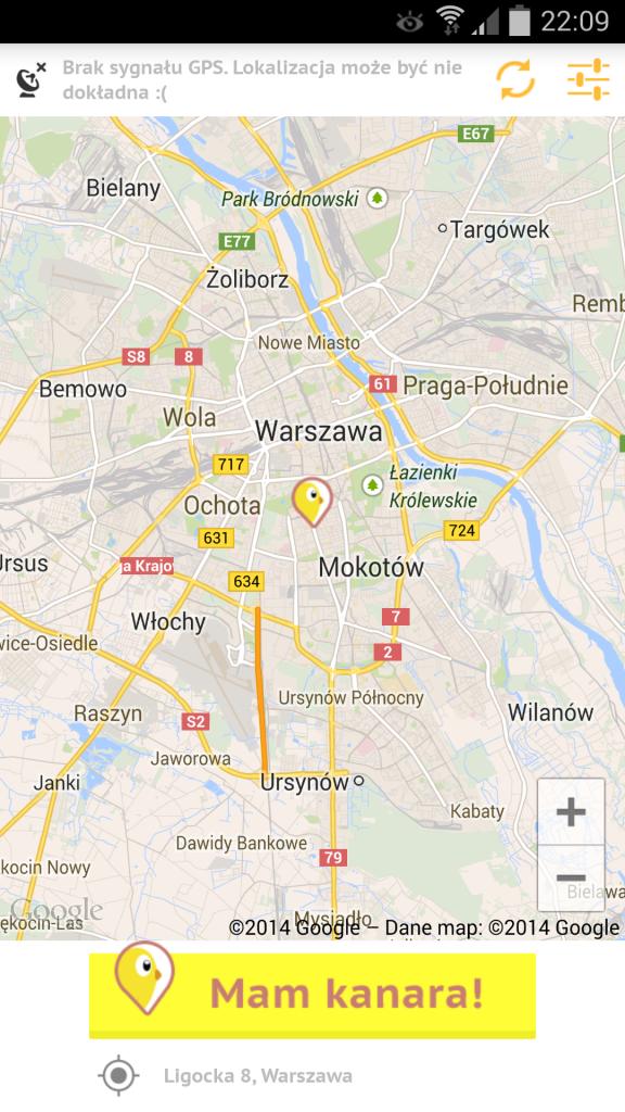 Mam kanara Mapa
