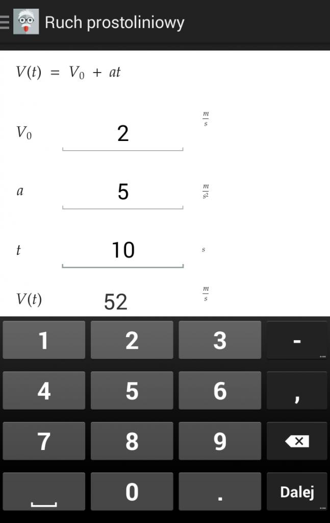 Fizyka Wzory - Android