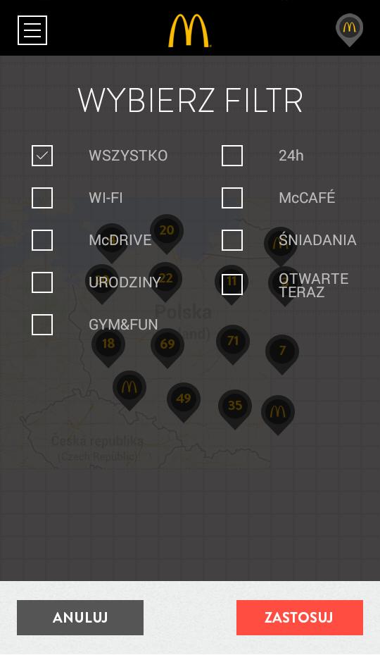 Kupony do McDonald's Polska 1