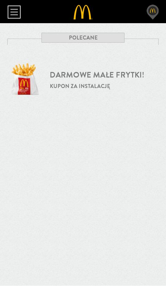Kupony do McDonald's Polska 3