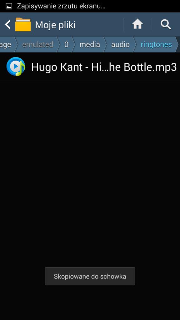 Jak ustawić dzwonek w Androidzie 1
