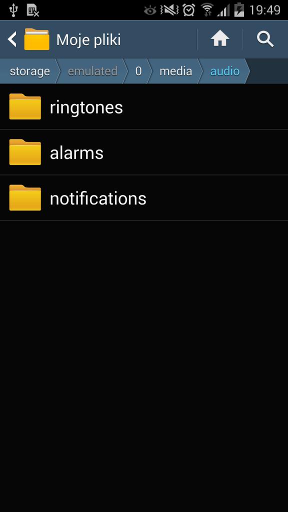 Jak ustawić dzwonek w Androidzie 2