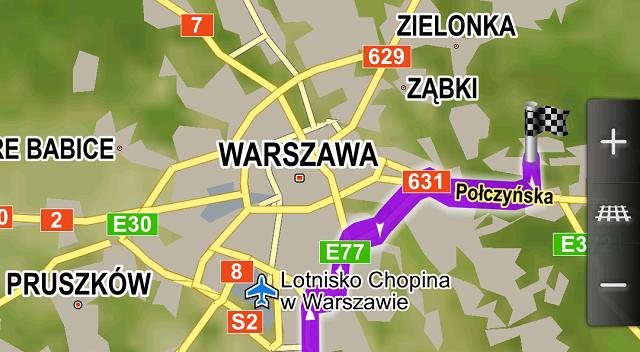 Nawigacje i mapy offline