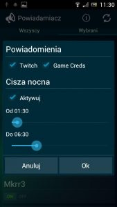 Android Powiadamiacz