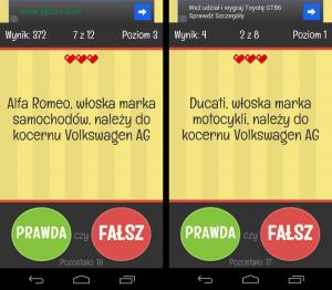 Prawda czy fałsz? Android