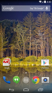 Launcher Google Now 3