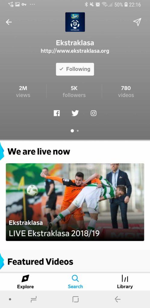 Ekstraklasa Dailymotion